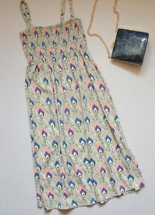 Распродажа!!! сарафан платье на бретельках  p.xs-s 100% хлопок  originals