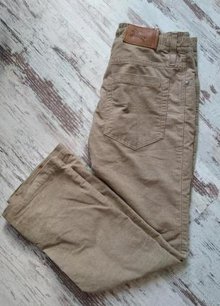 Подростковые вельветовые брюки burberry, оригинал