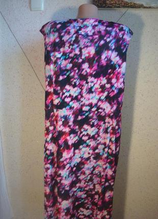 Очень красивое платье - футляр с прибранным пояском . размер 18-204 фото