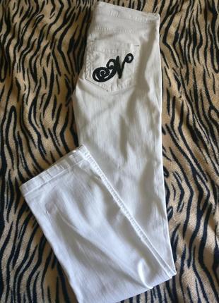 Стильные брендовые белые джинсы naf-naf (новые)