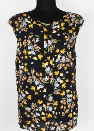 Блуза майка в цветочек s.oliver