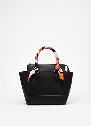 Новая сумка с платком bershka
