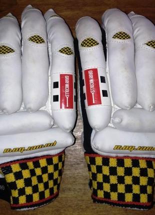 Кожаные перчатки для крикета gray nicolls