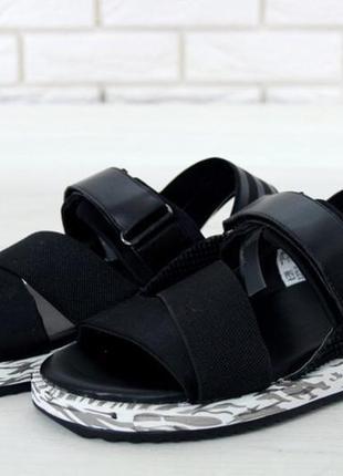 Мужские сандали adidas y-3 yohji yamamoto kaohe 41 42 43 44 рр