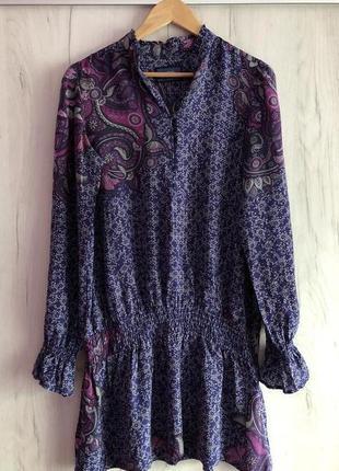 Шикарное шелковое платье от известного бренда mexx (нидерланды)