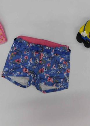 Модные стильные цветные  шорты для девочки под джинс c&a на рост 104 см