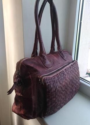 Кожаная сумка 5th avenue