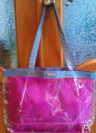 Пляжная прозрачная сумка mary kay, мери кей