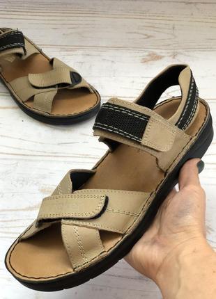 Фирменные босоножки сандали rieker antistress оригинал кожа