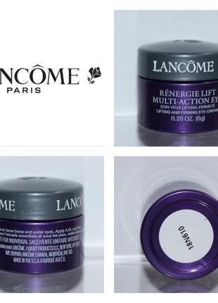 Крем для кожи контура глаз lancome renergie lift multi-action eye lifting & firming eye