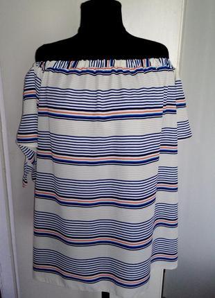 Круизная блуза с открытыми плечами atmosphere