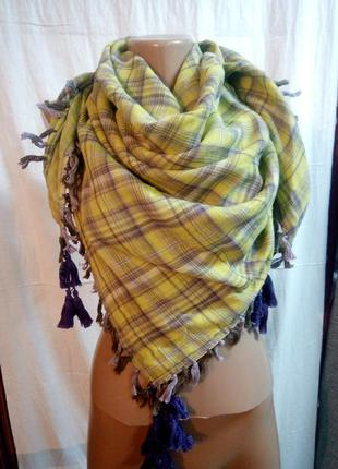 Платок шарф 100х100