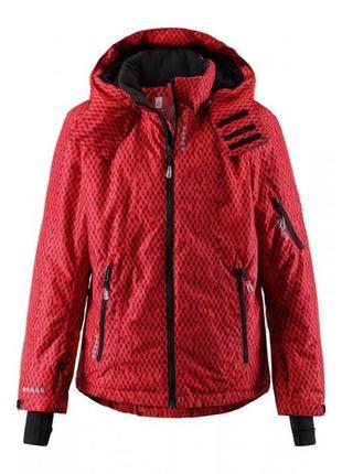 Куртка reima shift красная р. 104