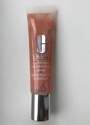 Увлажняющий блеск-бальзам для губ superbalm moisturizing gloss от clinique