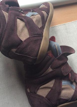 Брендовые кроссовки-сникерсы isabel marant