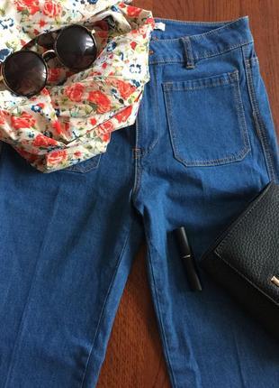 Джинсові штани pull&bear
