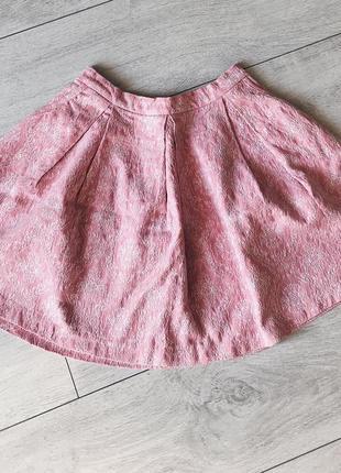 Розовая мини-юбка new look