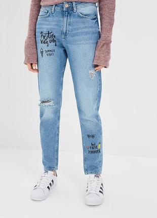 Скидка! 2 дня! джинсы с высокой талией от colin's