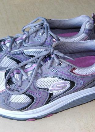 Skechers - супер кроссовки фитнес унисекс американского бренда размер 38 (стелька 25 см)