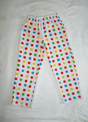 Флисовые штаники на 5-6 лет