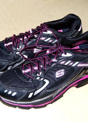 Skechers - супер кроссовки фитнес унисекс американского бренда размер 41 (стелька 28 см)