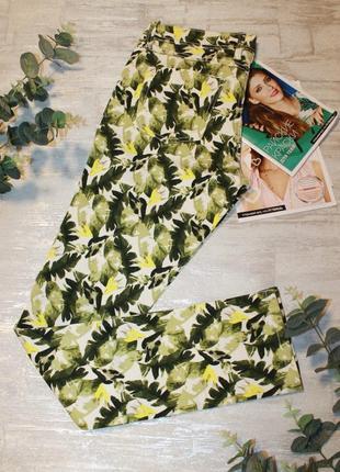 Стильные летние джинсы флора принт esmara размер 38 или м