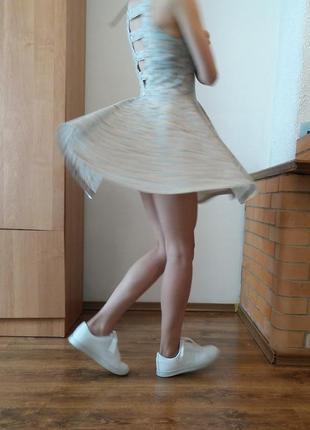 Цветочное платье pull&bear