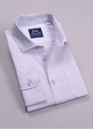 Рубашка школьная классическая для мальчика