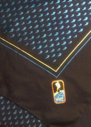 Шёлковый платок итальянский бренд ermenegildo zegna