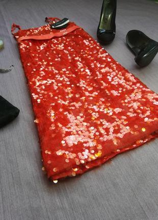 Огненно красное платье от patrizia pepe