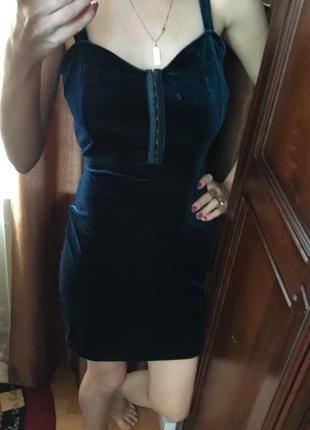 Велюрове плаття на новий рік