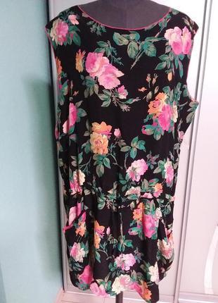 Короткое платье (туника) большого размера