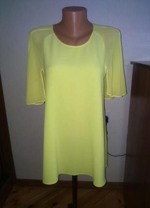Блуза ( туника ) желтого ,ооочень красивого цвета