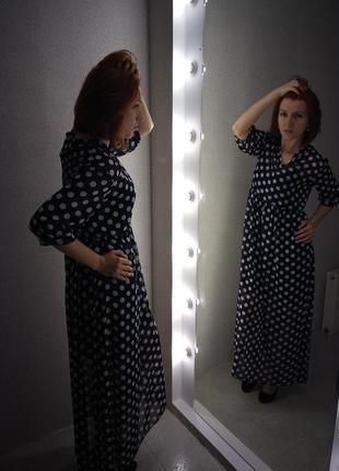 Платье шифоновое,лёгкое,летящее,летнее,