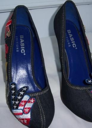Туфли женские  фирмы basic