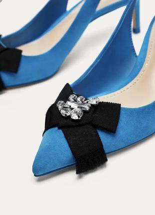Туфли zara, очень красивого цвета