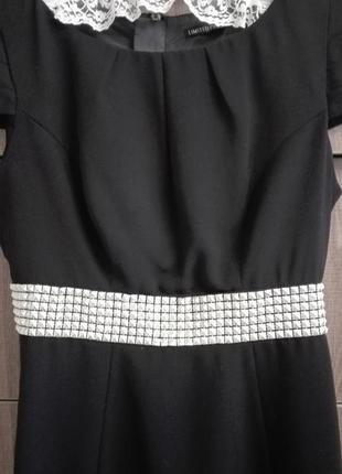 Чёрное платье фирмы marks&spencer