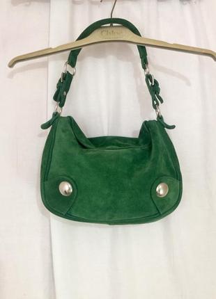 Стильная замшевая сумочка zara, испания,оригинал. смотрите мои объявления