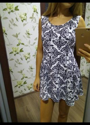 Платье платице сарафан красивое легкое летнее размер с
