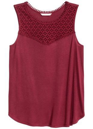 Блуза с вискозы h&m