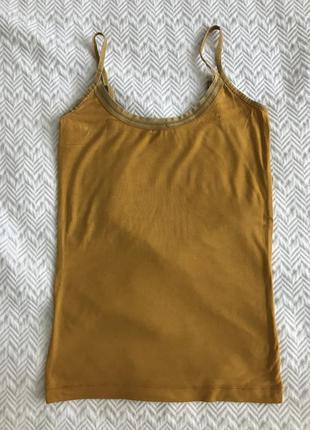 Майка inwear тёмно-жёлтая