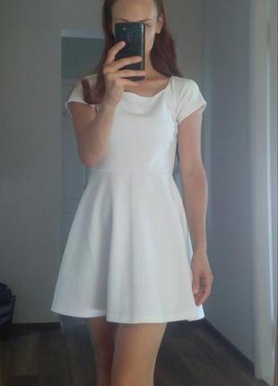 Белое платье ax paris