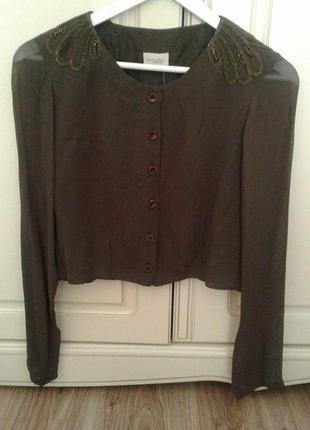 Дуже класна, оригінальна блузка від bon'a parte 36uk/10