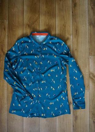 Продается женская рубашка с попугаями. numph