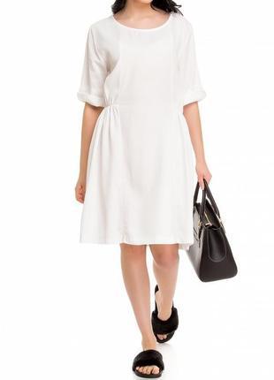 Летнее платье из тенцела pronto moda (made in italy)