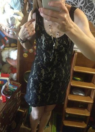 Красивое платье кружево