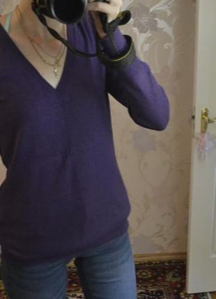 Фиолетовый джемпер atmoshere / в составе шерсть и кашемир