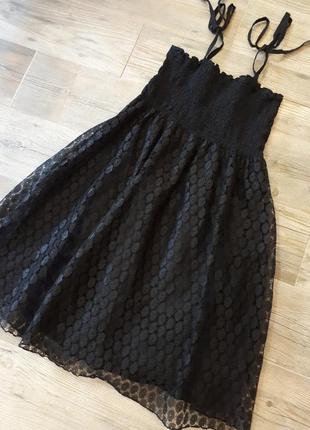 Нежное гипюровое платье , сарафан