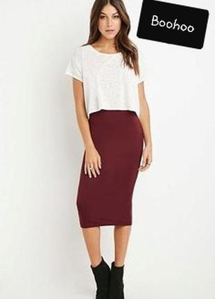 Новая юбка - чулок миди  boohoo