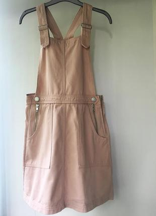 Джинсовое платье-комбинезон, комбез, сарафан cooperative